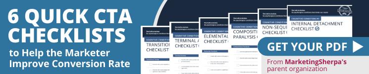 6 quick CTA checklists