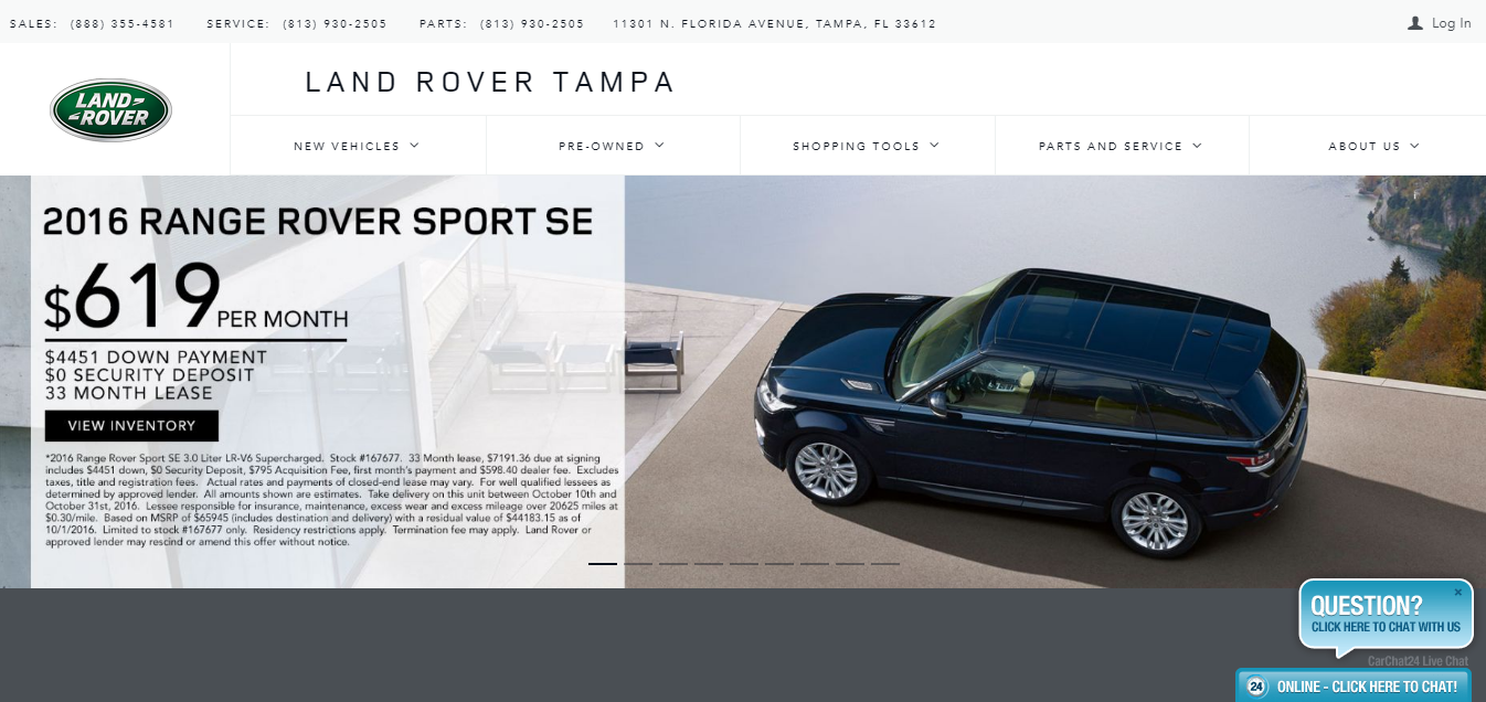 Land_Rover page