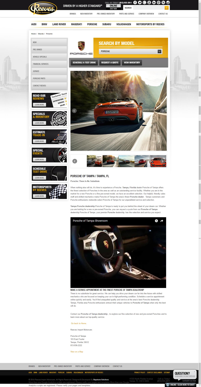 Porsche page