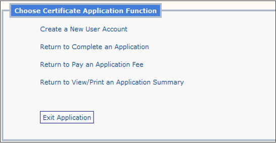 application function