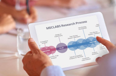 MECLABS research process