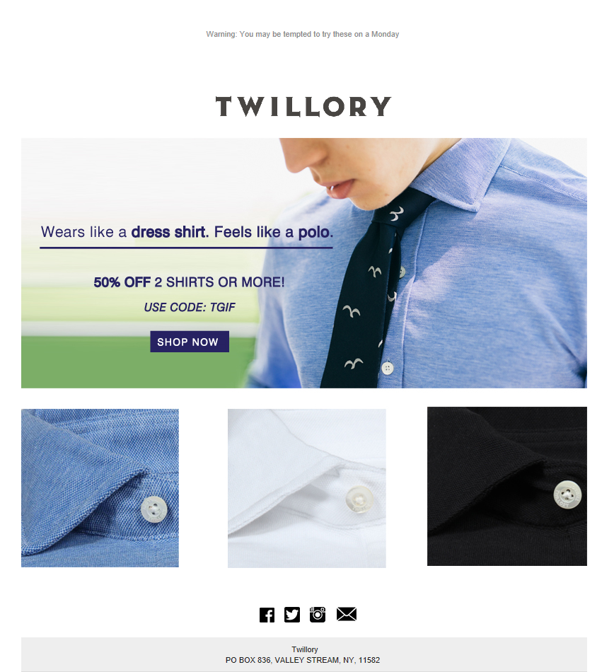 a3fae884179 Email Marketing  How a men s shirt company s focus on quality led to  segmentation and personalization