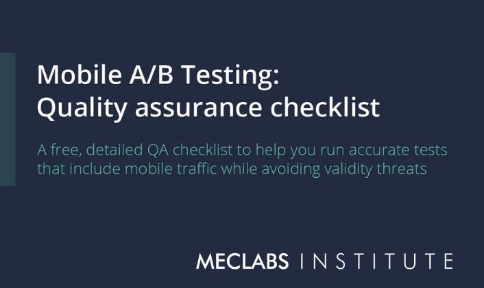 mobile QA checklist