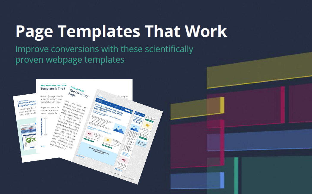 digital page templates