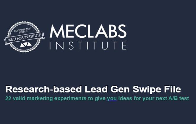 lead gen swipe file