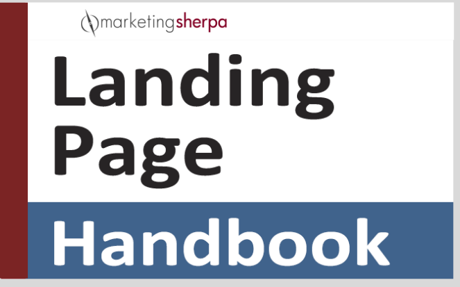 landing page handbook cover