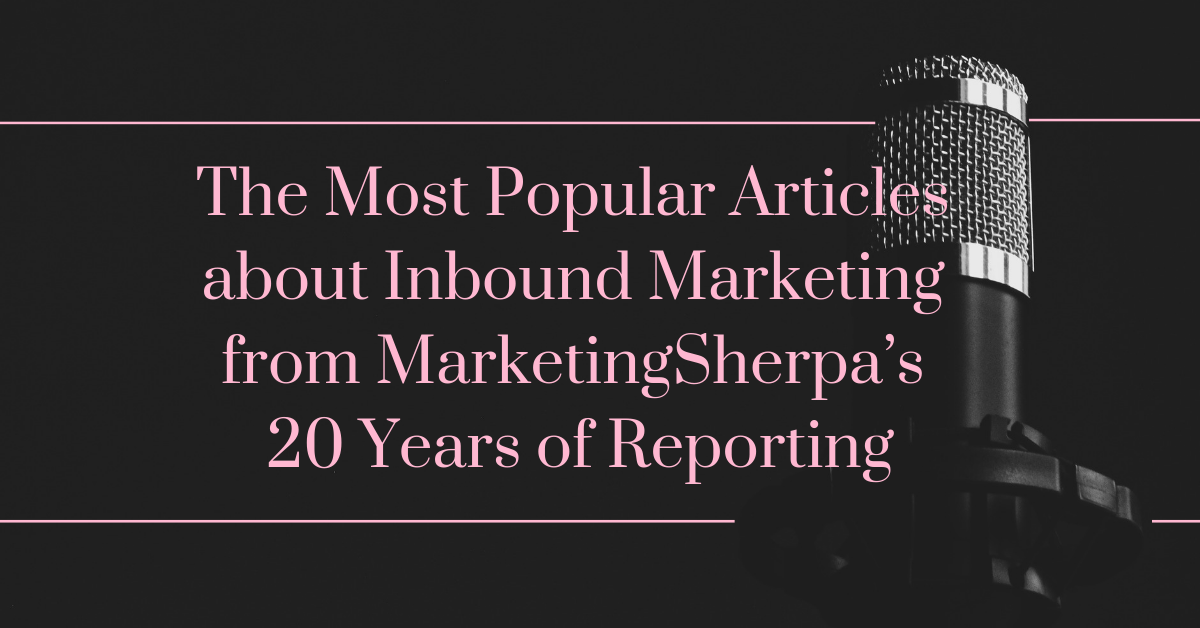 sherpa 20 yrs of publishing top email posts