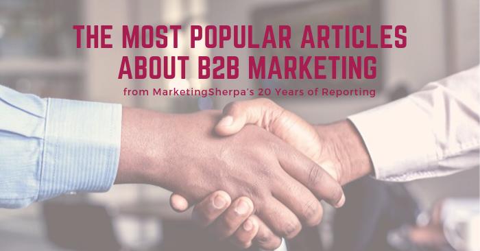 sherpa 20 yrs of publishing top b2b posts