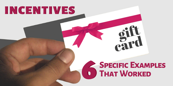 6 examples of incentives that worked