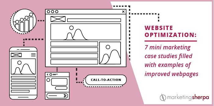 7 mini case studies of website changes