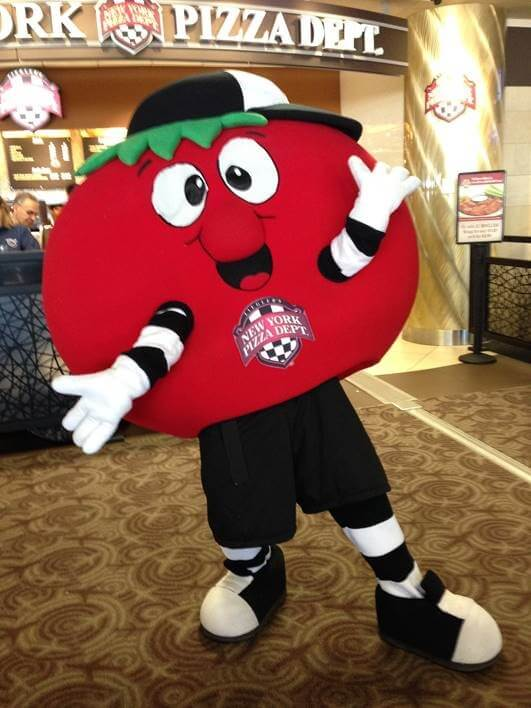 Creative Sample #7: Mascot for pizza franchise