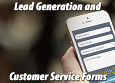 Lead Generation and Customer Service Forms: 3 quick case studies