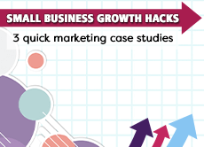 Small Business Growth Hacks: 3 quick marketing case studies of 'alternative to' SEO landing pages, going broad instead of niche, and a paid lead magnet