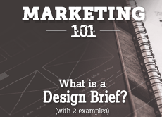 Marketing 101: What is a Design Brief? (with 2 examples)