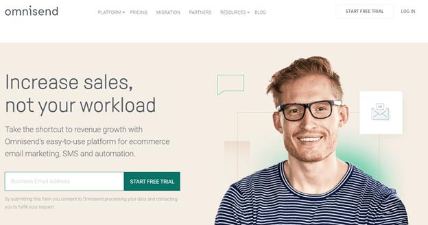 Creative Sample #2: Hero image (before) on SaaS homepage