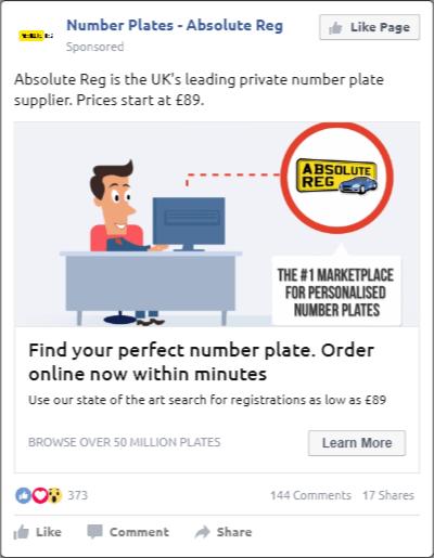 Creative Sample #3: Video ad on Facebook