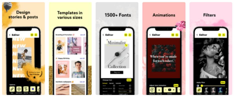 Creative Sample #4: Higher-performing app screenshots