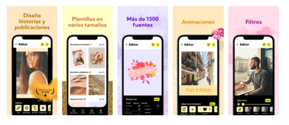 Creative Sample #5: Localized app screenshots